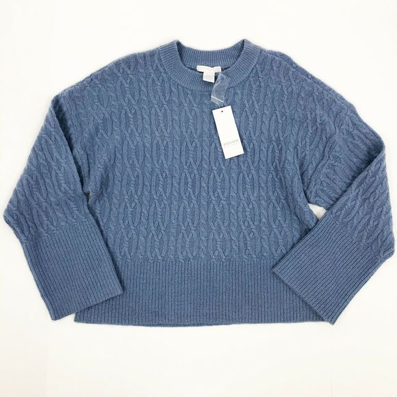 Design History Crewneck Cable Knit Sweater NWT